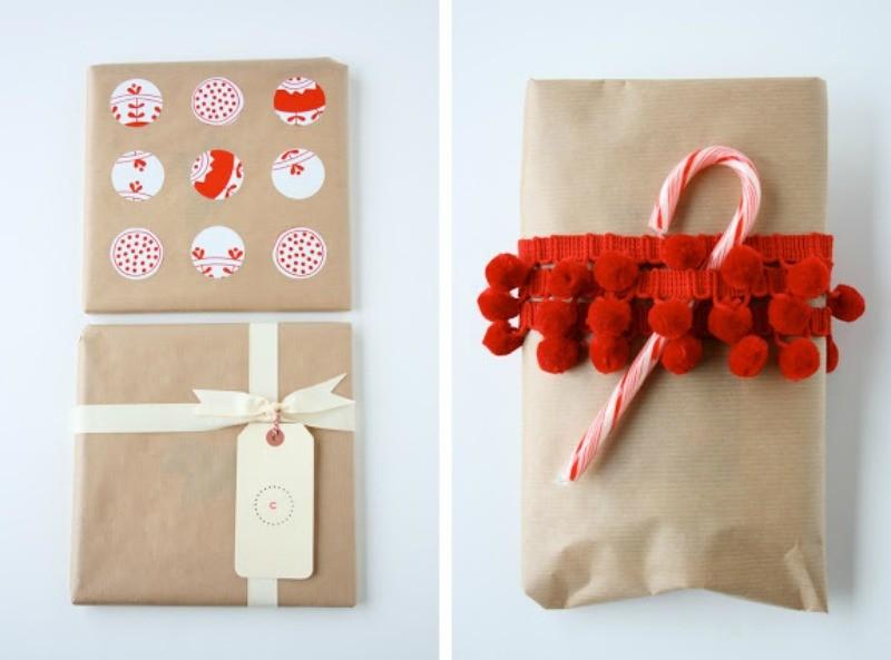 pakowanie-prezentów-brązowy-papier