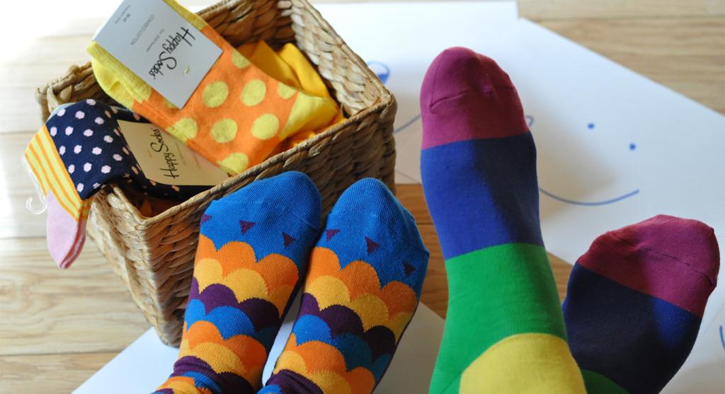 banner happy socks